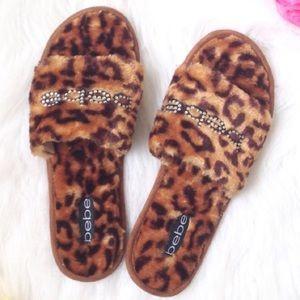 BRAND NEW BeBe slippers